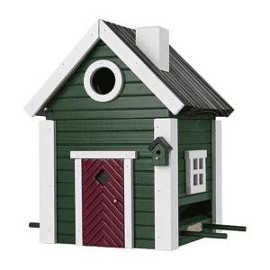 Multiholk Nestkast & Voederhuis - Green Cottage
