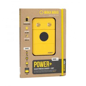 WakaWaka Power+ Powerbank Geel