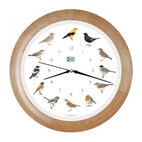 KooKoo Vogelklok met Vogelgeluiden