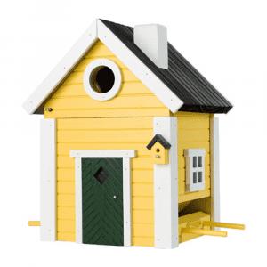 Multiholk Nestkast & Voederhuis - Yellow Cottage