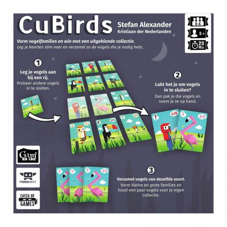 CuBirds - Kaartspel - Nederlands
