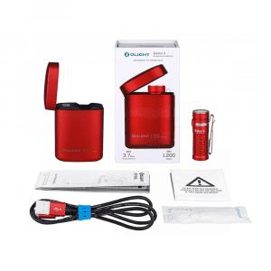 Olight Baton 3 Premium Kit - Rood